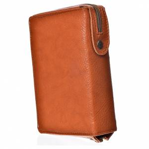 Daily Prayer covers: Daily prayer cover brown bonded leather Holy Family of Kiko