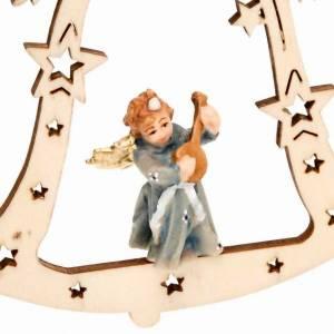Décoration Noël ange sur cloche s3
