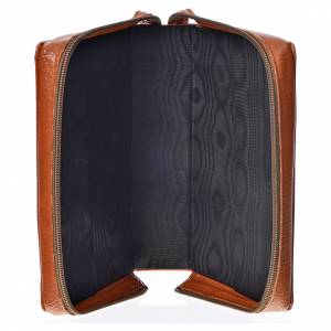 Divine Office covers: Divine office Cover brown bonded leather Holy Family of Kiko