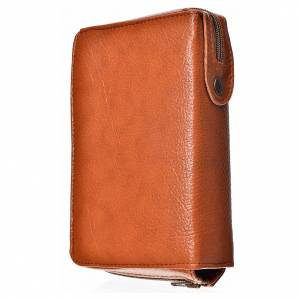Divine office cover, brown bonded leather s2