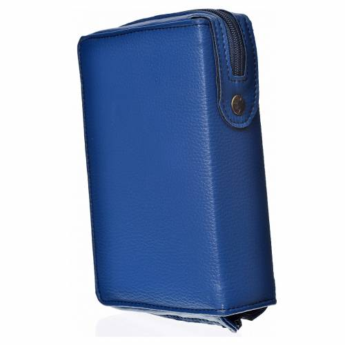 Divine office cover, light blue bonded leather s2