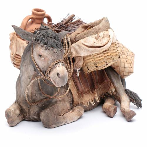 Donkey, 30cm in terracotta by Angela Tripi s4
