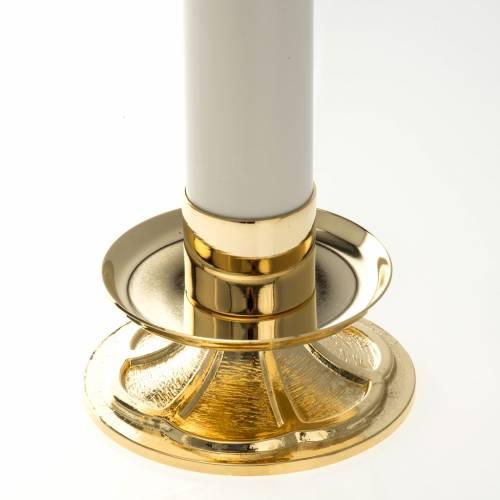Duo chandeliers  avec bougies à cire liquide s2