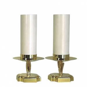 Duo chandeliers d'autel complets s1