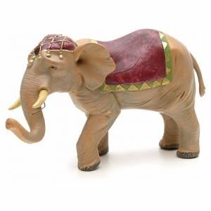 Animales para el pesebre: Elefante 12 cm Fontanini