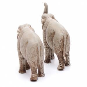 Elefantes surtidos, 2 pdz, para belén de Moranduzzo con estatuas de 3,5 cm s4