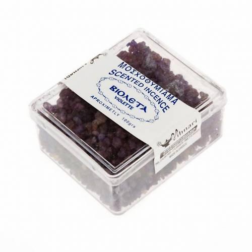 Encens grec parfumé à la violette 100 gr s2