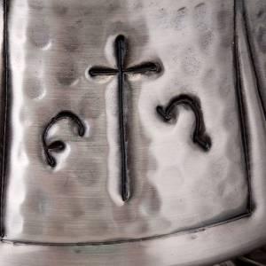 Encensoir et navette ciselés croix s7