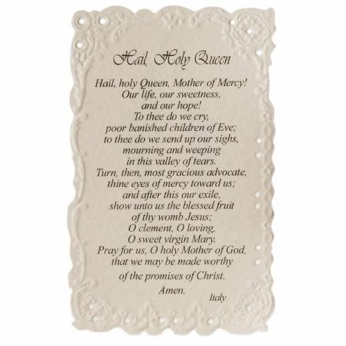 Estampa Our Lady of Grace con oración (inglés) s2