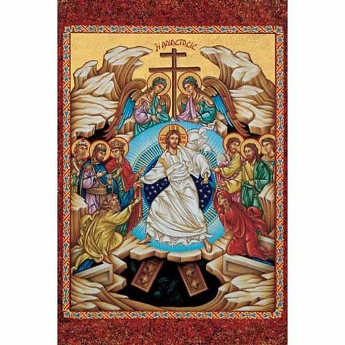 Estampa religiosa Resurrección s1