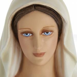 Estatua de la Virgen Inmaculada 100 cm  fibra de vidrio s7