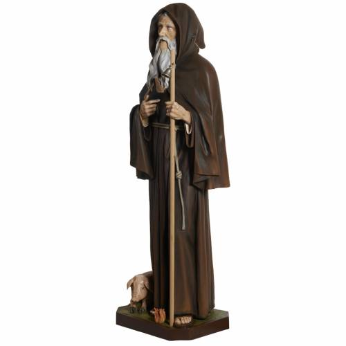 Estatua San Antonio Abate 160cm  fibra de vidrio s8