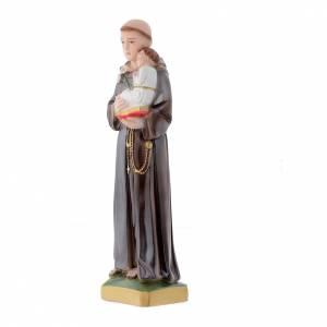 Imágenes de yeso: Estatua San Antonio de Padua 30 cm. yeso