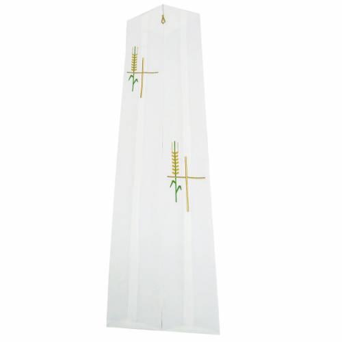 Etole liturgique épis croix stylisée polyester s1