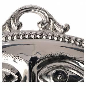 Ex-voto yeux lisses argent 925 ou métal 11x5.5 cm s2