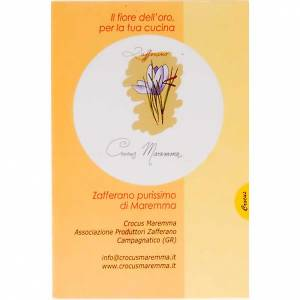 Extra virgin olive oils and condiments: Extra pure saffron- Monastery of Siloe