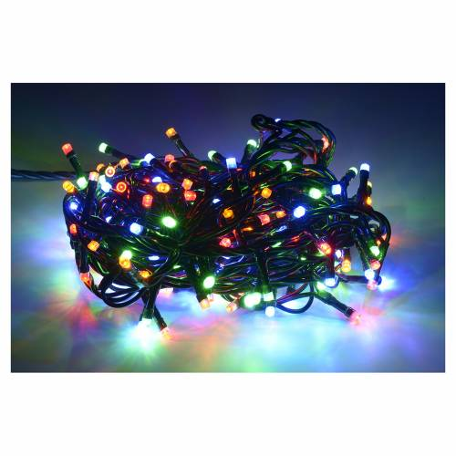 Fairy lights 180 LED lights, multicoloured for indoor use s2
