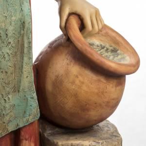 Femme avec amphore crèche Fontanini 125 cm résine s4