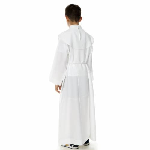 First Communion alb, for boy, chalice s4