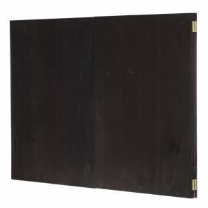 Fond crèche de Noel paysage, triptyque bois 200x70 s6