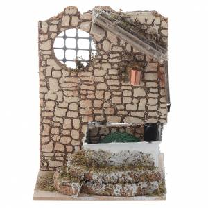 Fontane Presepe: Fontana con pompa 15x10x15 cm