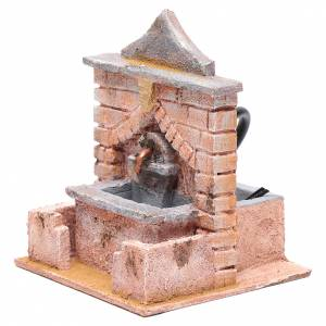 Fontane Presepe: Fontana con pompa 20x15x15 cm