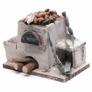 Forge crèche napolitaine 6x8,5x6 cm s2