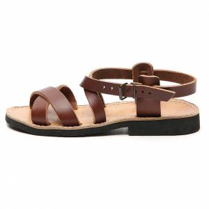 Franciscan Sandals in leather, model Sinaia s1