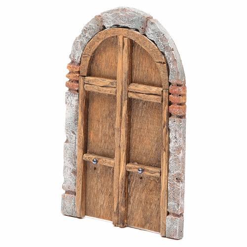 Front Door arched 18x12cm s2