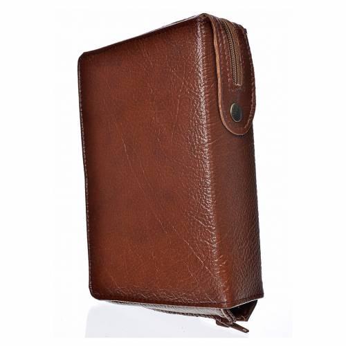 Funda Sagrada Biblia CEE ED. Pop. marrón simil c. Sagrada Famili s2