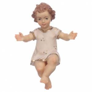 Statue Gesù Bambino: Gesù Bambino legno cm 7