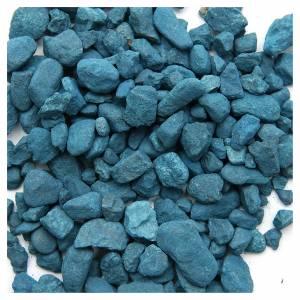 Muschio, licheni, piante, pavimentazioni: Ghiaia azzurra presepe 500 gr