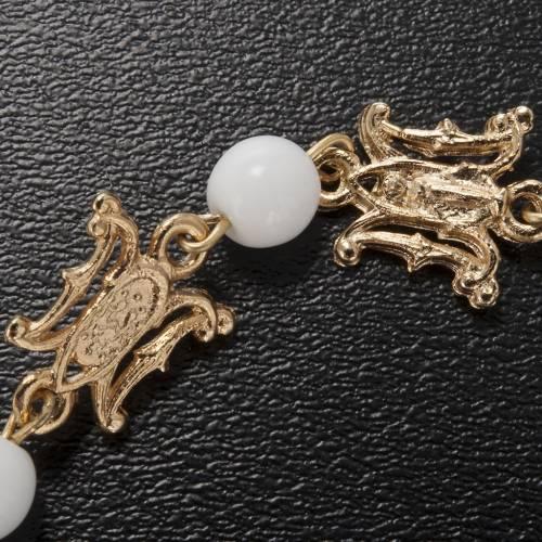 Ghirelli bracelet in Marian white glass s4
