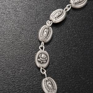 Ghirelli bracelet, Our Lady of Guadalupe, brass 6x8mm s3
