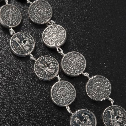 Ghirelli rosary beads, Notre Dame de Paris Pietà 10mm s4
