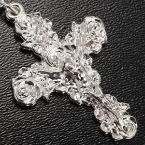 Ghirelli rosary Lourdes, black shiny glass s5