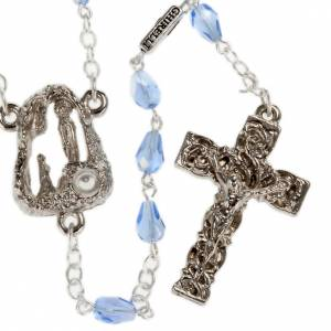 Ghirelli outlet rosary beads: Ghirelli rosary, Lourdes, drops 6x4mm
