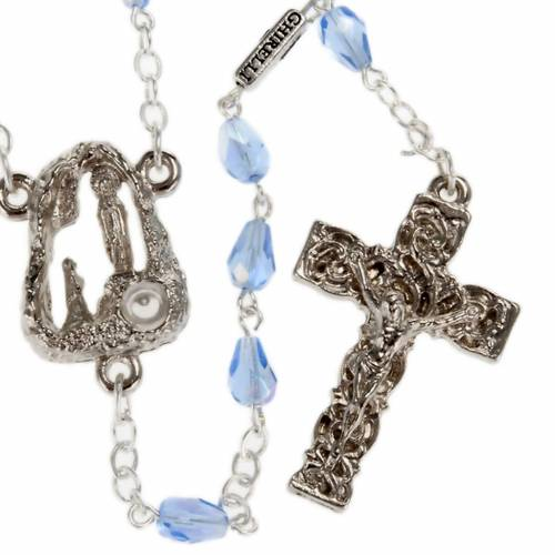 Ghirelli rosary, Lourdes, drops 6x4mm s1
