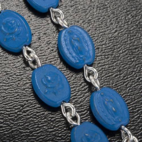 Ghirelli rosary, Notre Dame de Paris medals 6x8mm s5
