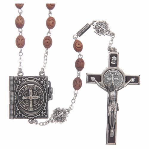 Ghirelli rosary, Saint Benedict s1