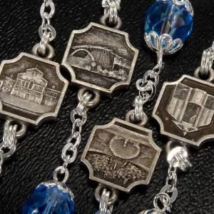 Ghirelli rosary sapphire glass Padre Pio s4