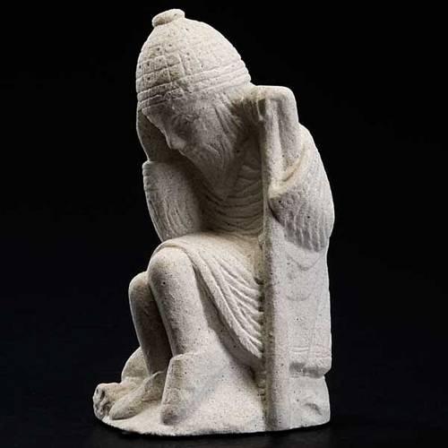 Giuseppe Presepe d'Autunno pietra bianca s2