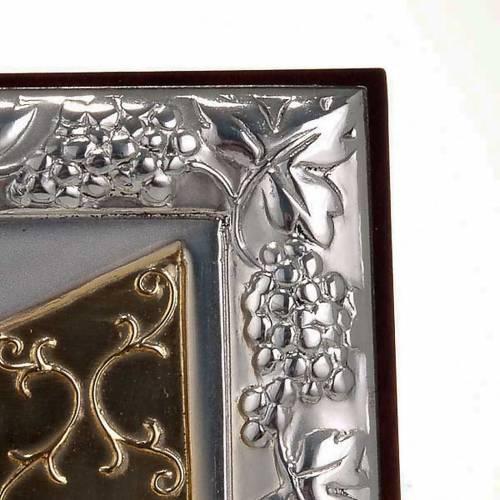 Gold/silver Bas Relief - Leonardo's Last Supper s3