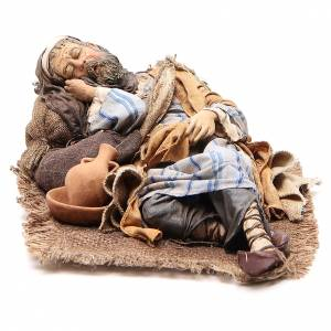 Grand dormeur 30 cm crèche Angela Tripi s2