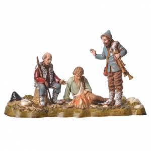 Group of 6 nativity figurines, 10cm Moranduzzo s4