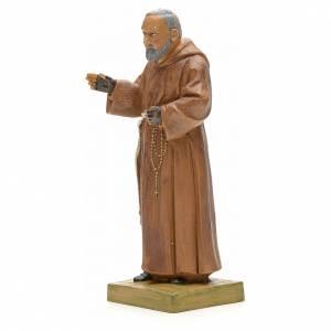 Père Pio statue 18 cm Fontanini s2