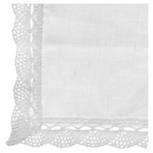 Altargarnitur: Handtuch Lein und Baumwolle 2 St.