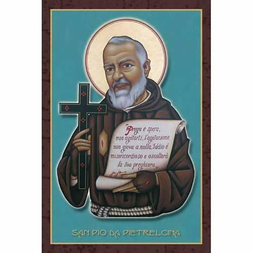 Holy Card, Saint Padre Pio of Pietralcina s1