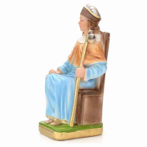 Holy Child of Atocha statue in plaster, 25 cm s3