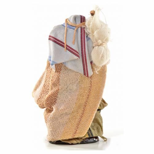 Hombre con  saco 6 cm. belén Napolitano estilo ára s2